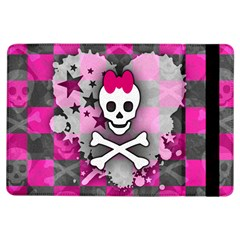 Princess Skull Heart Apple iPad Air Flip Case