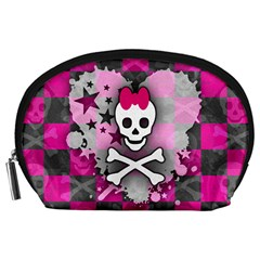 Princess Skull Heart Accessory Pouch (large)