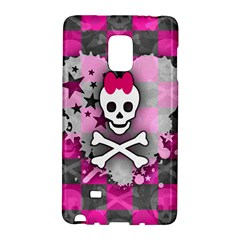 Princess Skull Heart Samsung Galaxy Note Edge Hardshell Case