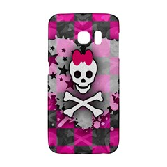 Princess Skull Heart Samsung Galaxy S6 Edge Hardshell Case