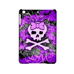 Purple Girly Skull Apple Ipad Mini 2 Hardshell Case