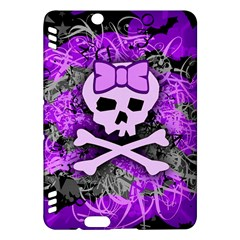 Purple Girly Skull Kindle Fire HDX Hardshell Case