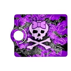 Purple Girly Skull Kindle Fire Hd (2013) Flip 360 Case