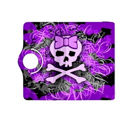 Purple Girly Skull Kindle Fire HDX 8.9  Flip 360 Case