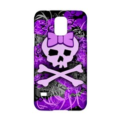 Purple Girly Skull Samsung Galaxy S5 Hardshell Case