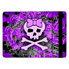 Purple Girly Skull Samsung Galaxy Tab Pro 12.2  Flip Case