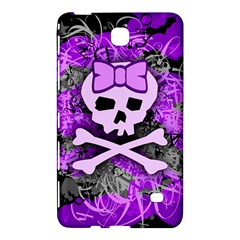 Purple Girly Skull Samsung Galaxy Tab 4 (7 ) Hardshell Case