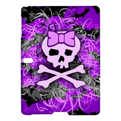 Purple Girly Skull Samsung Galaxy Tab S (10.5 ) Hardshell Case