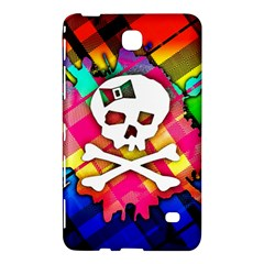 Rainbow Plaid Skull Samsung Galaxy Tab 4 (7 ) Hardshell Case