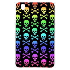 Rainbow Skull and Crossbones Pattern Samsung Galaxy Tab Pro 8.4 Hardshell Case
