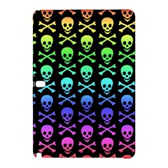Rainbow Skull and Crossbones Pattern Samsung Galaxy Tab Pro 12.2 Hardshell Case
