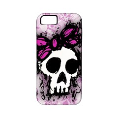 Sketched Skull Princess Apple Iphone 5 Classic Hardshell Case (pc+silicone)