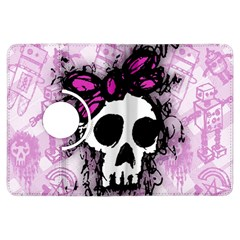 Sketched Skull Princess Kindle Fire HDX Flip 360 Case