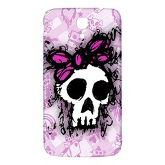 Sketched Skull Princess Samsung Galaxy Mega I9200 Hardshell Back Case