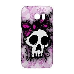 Sketched Skull Princess Samsung Galaxy S6 Edge Hardshell Case