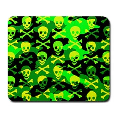 Skull Camouflage Large Mouse Pad (rectangle)