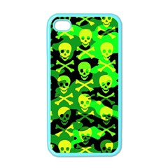 Skull Camouflage Apple Iphone 4 Case (color)