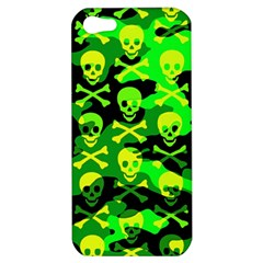 Skull Camouflage Apple Iphone 5 Hardshell Case