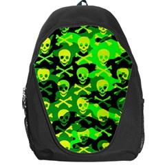 Skull Camouflage Backpack Bag