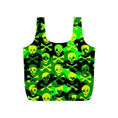 Skull Camouflage Reusable Bag (S)