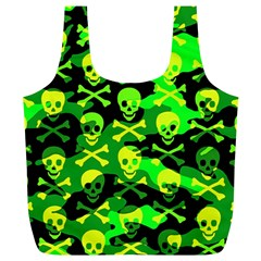 Skull Camouflage Reusable Bag (xl)
