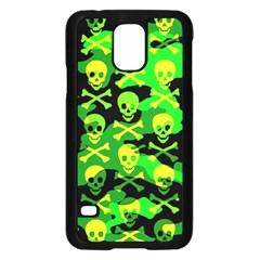 Skull Camouflage Samsung Galaxy S5 Case (black)