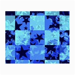 Blue Star Checkers Glasses Cloth (small)