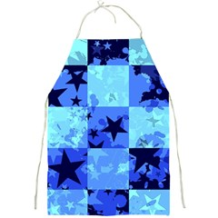 Blue Star Checkers Apron