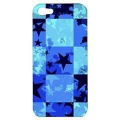 Blue Star Checkers Apple Iphone 5 Hardshell Case