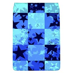 Blue Star Checkers Removable Flap Cover (l)