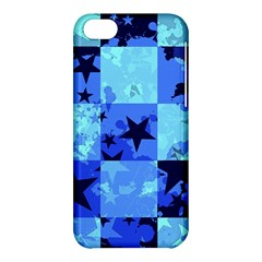 Blue Star Checkers Apple Iphone 5c Hardshell Case