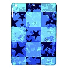 Blue Star Checkers Apple Ipad Air Hardshell Case