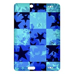 Blue Star Checkers Kindle Fire Hd (2013) Hardshell Case