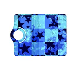 Blue Star Checkers Kindle Fire HD (2013) Flip 360 Case