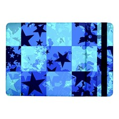 Blue Star Checkers Samsung Galaxy Tab Pro 10 1  Flip Case