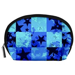 Blue Star Checkers Accessory Pouch (Large)