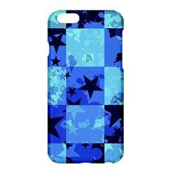 Blue Star Checkers Apple iPhone 6 Plus Hardshell Case
