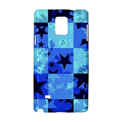 Blue Star Checkers Samsung Galaxy Note 4 Hardshell Case