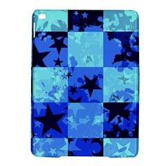 Blue Star Checkers Apple iPad Air 2 Hardshell Case
