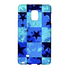 Blue Star Checkers Samsung Galaxy Note Edge Hardshell Case