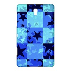 Blue Star Checkers Samsung Galaxy Tab S (8 4 ) Hardshell Case