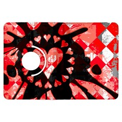 Love Heart Splatter Kindle Fire Hdx Flip 360 Case