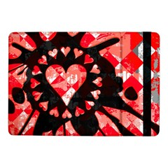 Love Heart Splatter Samsung Galaxy Tab Pro 10 1  Flip Case