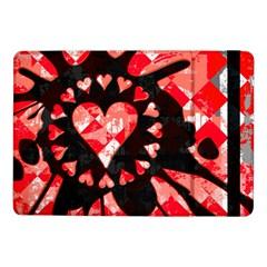 Love Heart Splatter Samsung Galaxy Tab Pro 10.1  Flip Case