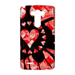 Love Heart Splatter LG G3 Hardshell Case