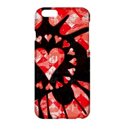Love Heart Splatter Apple iPhone 6 Plus Hardshell Case