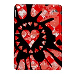 Love Heart Splatter Apple iPad Air 2 Hardshell Case