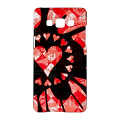 Love Heart Splatter Samsung Galaxy A5 Hardshell Case