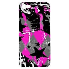 Pink Scene Kid Apple Iphone 5 Hardshell Case