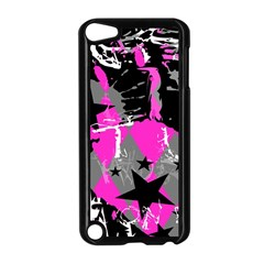 Pink Scene Kid Apple Ipod Touch 5 Case (black)